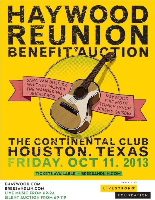 Oct 11, 2013,  The Continental Club,  Houston, TX