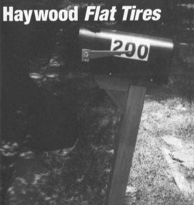 Cover of the Haywood Album Flat Tires